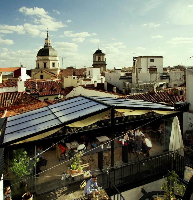 Otoño en Madrid: Barbacoa