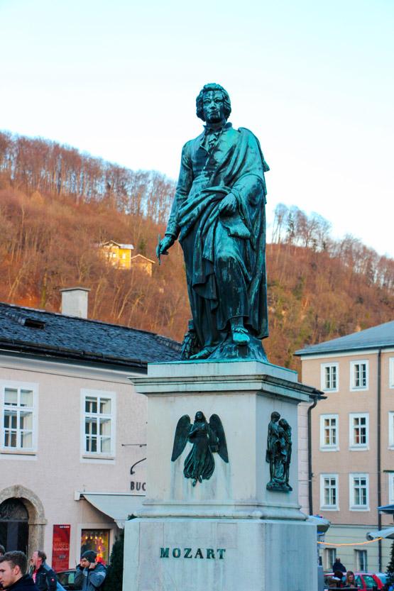 Monumento a Mozart.