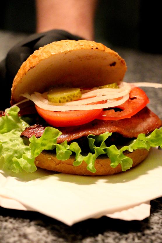 Mi hamburguesa 100% bio.