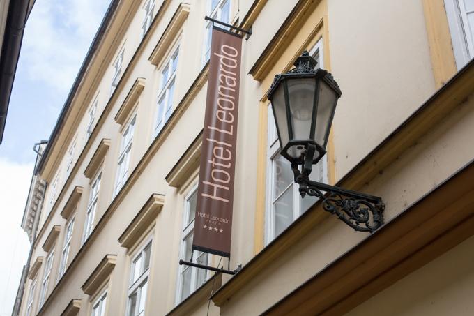 Nuestro hotel en Praga.