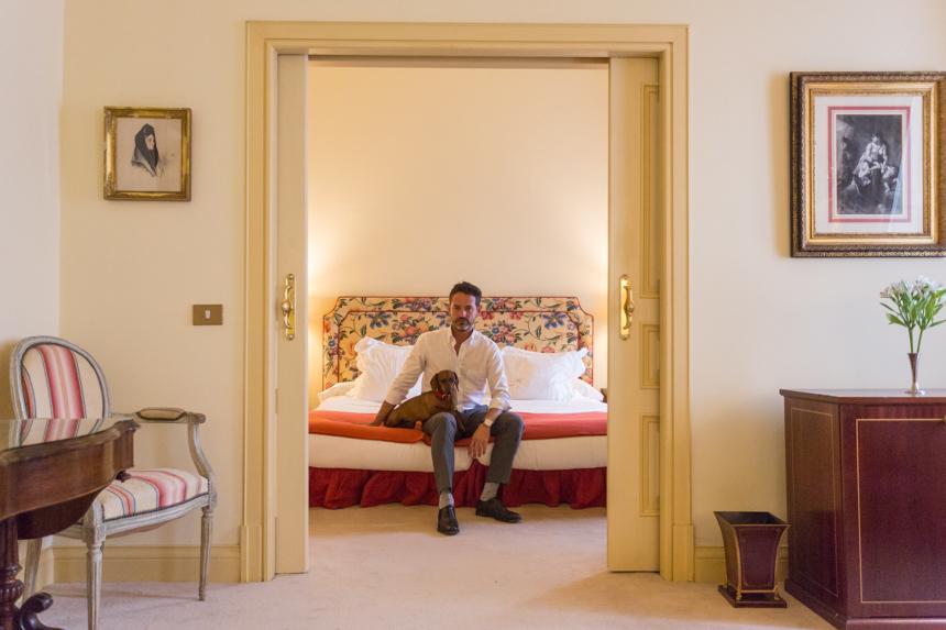 En nuestra Deluxe Suite del Relais & Chateaux Hotel Orfila, Madrid. Fotos: David Suárez Fernández.