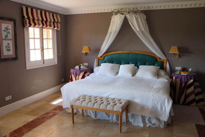 Mi cama en Valdepalacios.