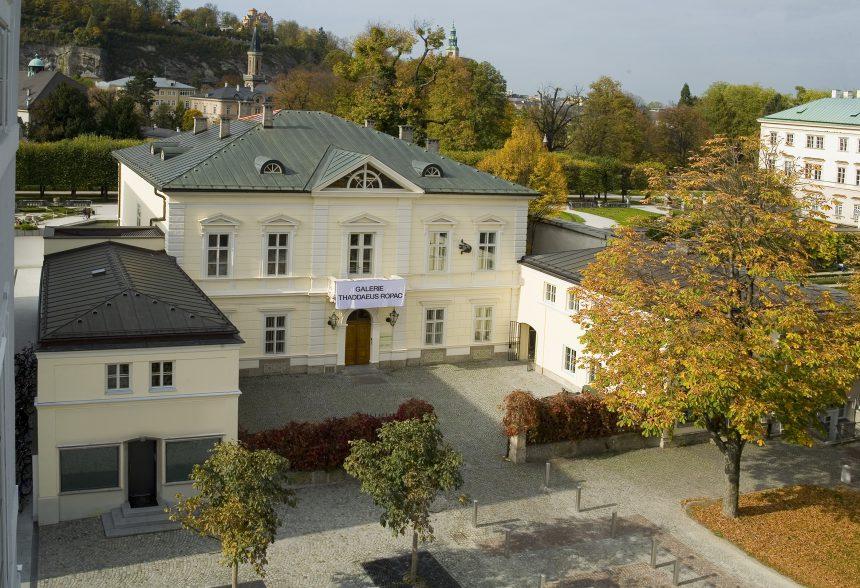 Villa Kast, la galería de arte para visitar en Salzburgo