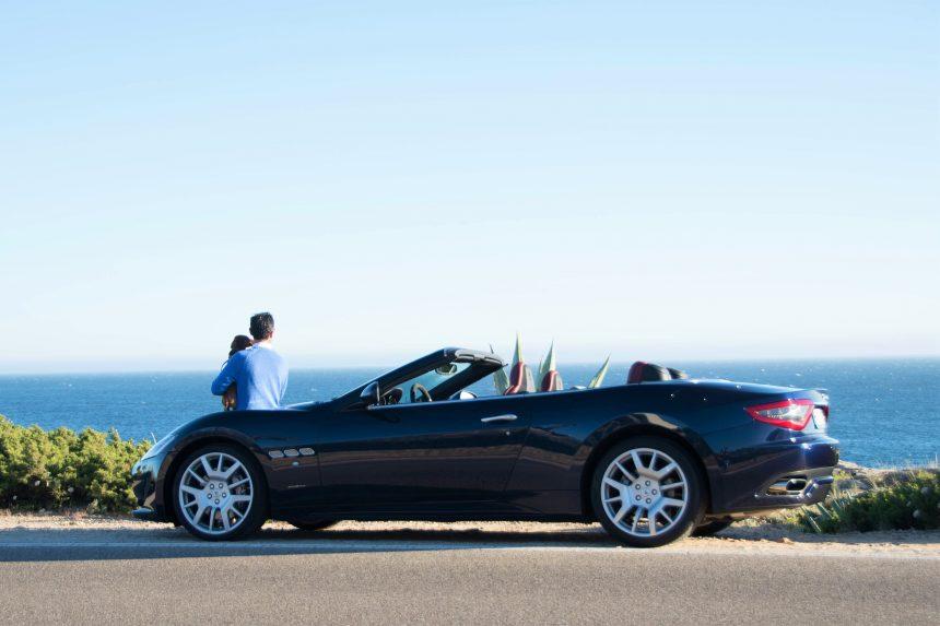 Cascais con el Maserati GranCabrio Sport