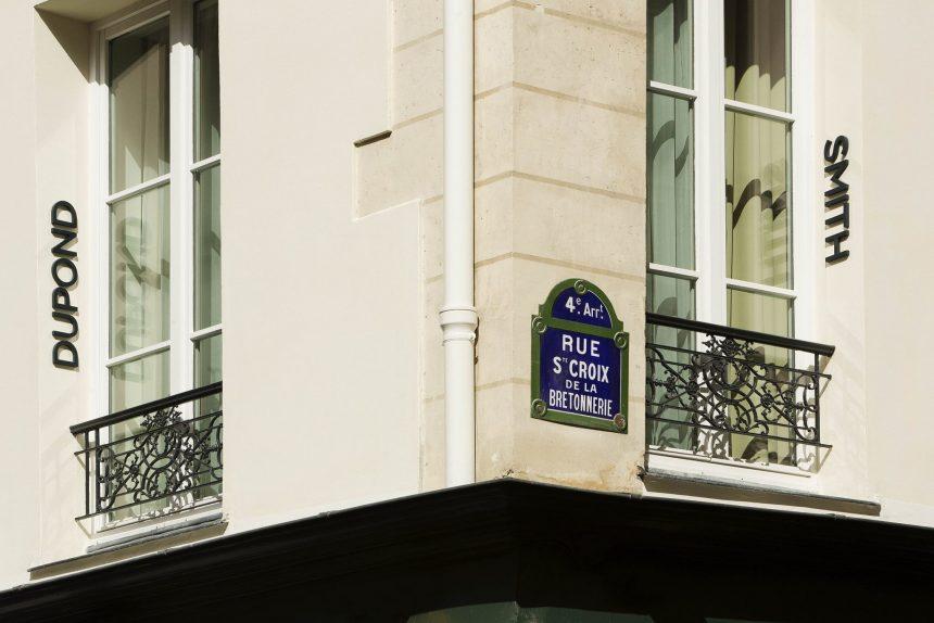 Dupond-Smith, discreción y ultra diseño en Le Marais