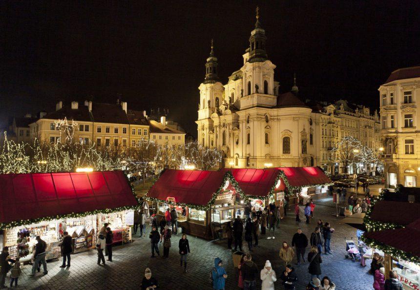 Navidades de cuento en el Mandarin Oriental de Praga