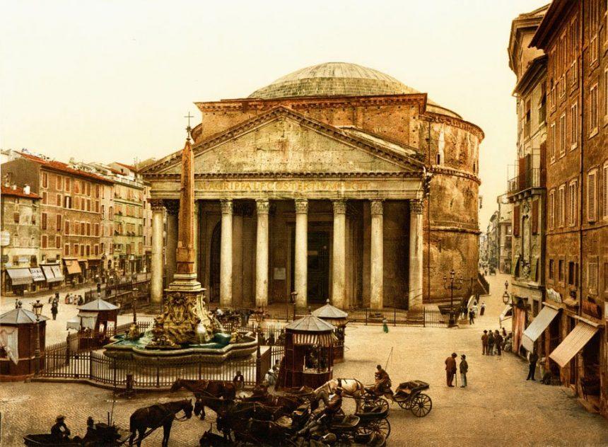 Con Goethe, contemplo las mejores fotografías de Roma