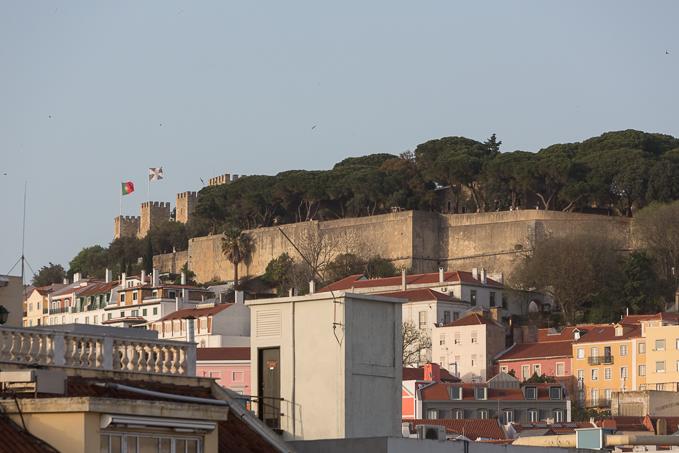 Castillo de San Jorge.