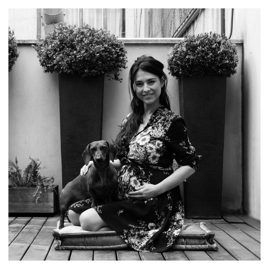 Cristina Brondo, actriz, dice #NoAlAbandono de perros