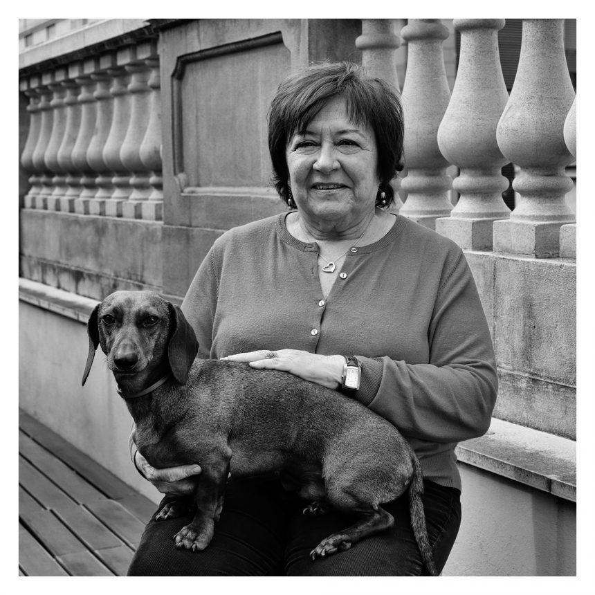 Katy Carreres, ex concejala, dice #NoAlAbandono de perros