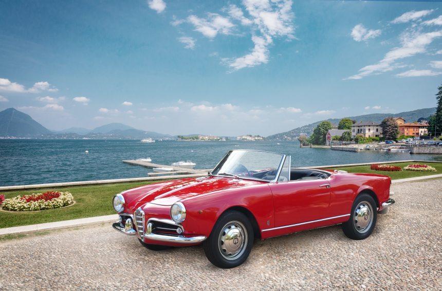 Mandarin Oriental Milán y Lombardía con el Alfa Romeo Giulietta Spider