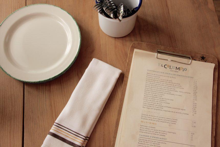 El Columpio, una mesa alegre