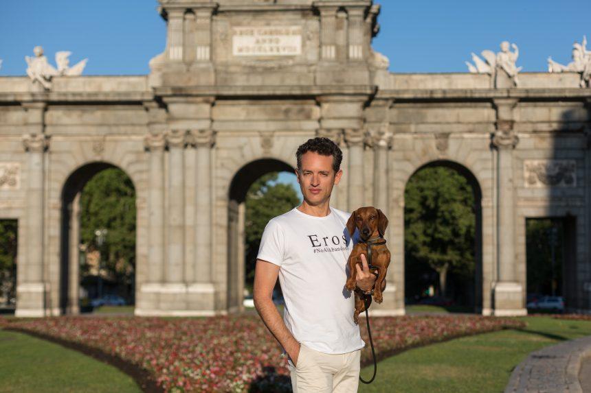 Eros #NoAlAbandono y ¡Feliz Día Mundial del Perro!