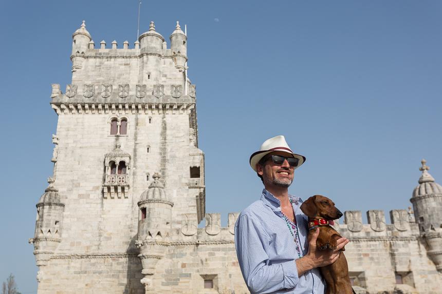Torre de Belém, una postal viva