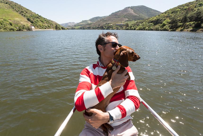 Navegando por el río Douro, disfruté de los placeres de la vida