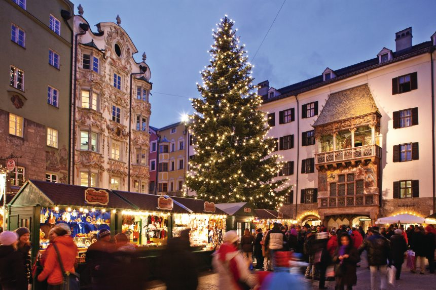 Mercadillo navideño en Innsbruck