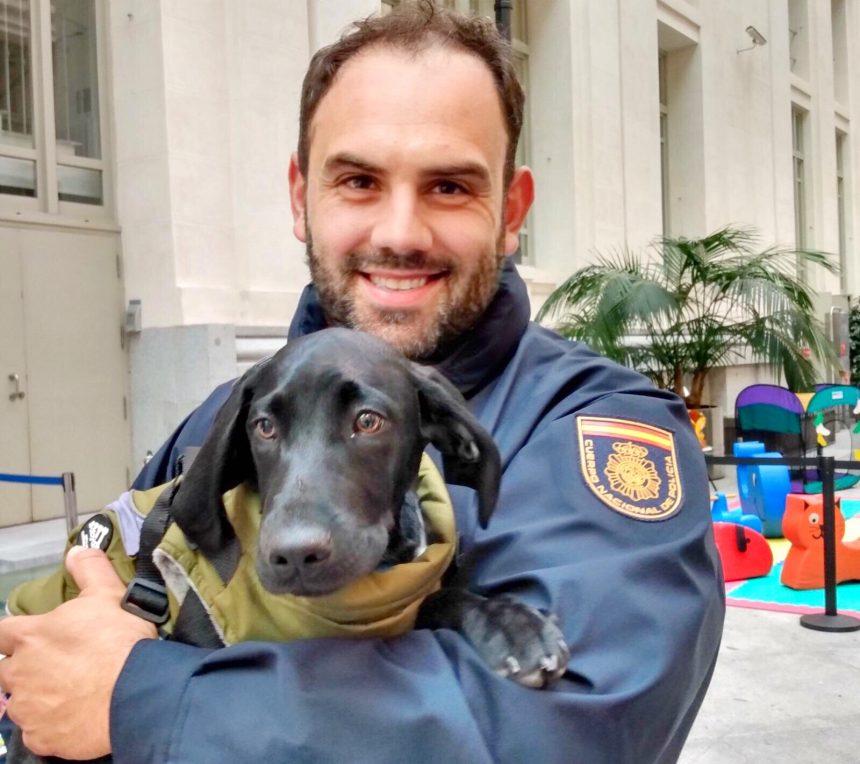Juan Gancedo, Policía Nacional y rescatista