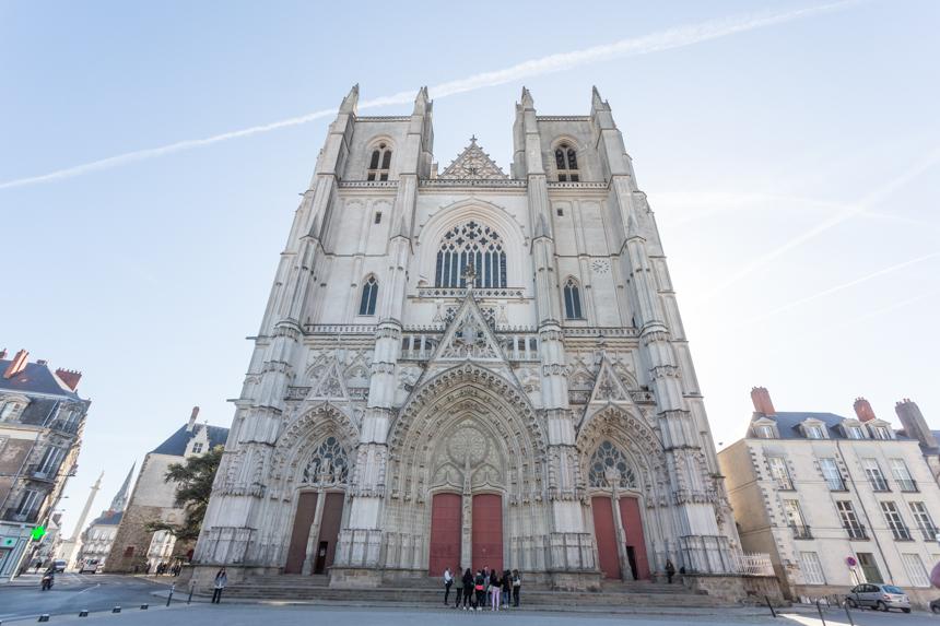 Incendio de la Catedral de Nantes, compartimos nuestro dolor.
